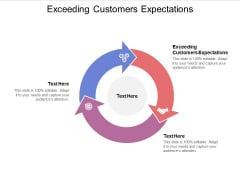 Exceeding Customers Expectations Ppt PowerPoint Presentation Styles Structure Cpb Pdf