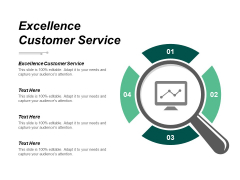Excellence Customer Service Ppt Powerpoint Presentation Inspiration Slide Download Cpb