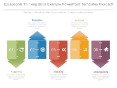 Exceptional Thinking Skills Example Powerpoint Templates Microsoft