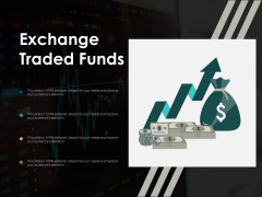 Exchange Traded Funds Ppt Powerpoint Presentation Infographic Template Icons