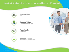 Exclusive Illustration Gaming Contact Us For High End Graphics Gaming Proposal Microsoft PDF