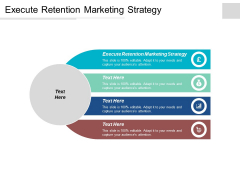 Execute Retention Marketing Strategy Ppt PowerPoint Presentation Icon Show Cpb
