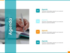 Executing Organization Commodity Strategy Agenda Mockup PDF