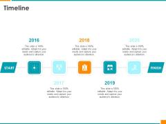 Executing Organization Commodity Strategy Timeline Sample PDF