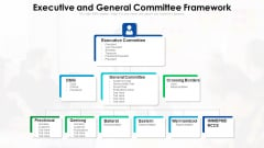 Executive And General Committee Framework Ppt Outline Outfit PDF