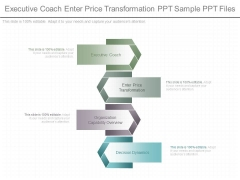 Executive Coach Enter Price Transformation Ppt Sample Ppt Files