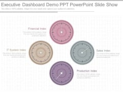 Executive Dashboard Demo Ppt Powerpoint Slide Show