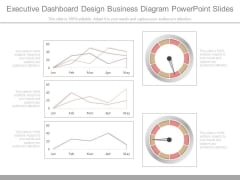 Executive Dashboard Design Business Diagram Powerpoint Slides