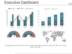 Executive Dashboard Ppt PowerPoint Presentation Visuals
