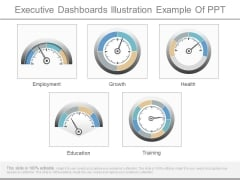 Executive Dashboards Illustration Example Of Ppt