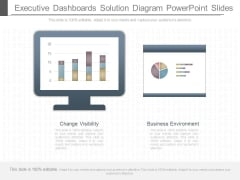 Executive Dashboards Solution Diagram Powerpoint Slides