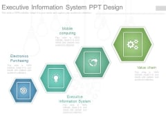 Executive Information System Ppt Design