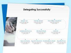 Executive Leadership Programs Delegating Successfully Ppt Outline Samples PDF