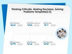 Executive Leadership Programs Thinking Critically Making Decisions Solving Problems Template Leadership Structure PDF