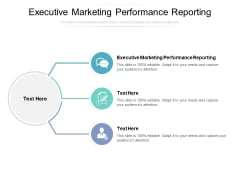 Executive Marketing Performance Reporting Ppt PowerPoint Presentation Pictures Information Cpb