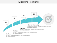 Executive Recruiting Ppt PowerPoint Presentation Model Graphics Design Cpb