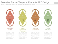 Executive Report Template Example Ppt Design