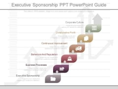Executive Sponsorship Ppt Powerpoint Guide