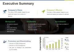 Executive Summary Ppt PowerPoint Presentation Icon Pictures