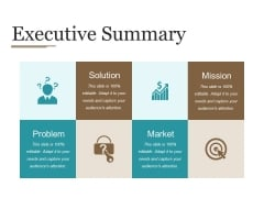 Executive Summary Ppt PowerPoint Presentation Ideas Elements