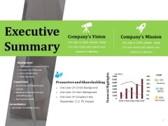 Executive Summary Ppt PowerPoint Presentation Ideas Professional