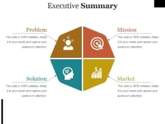 Executive Summary Ppt PowerPoint Presentation Layouts Graphics Template