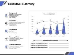 Executive Summary Ppt PowerPoint Presentation Layouts Outline
