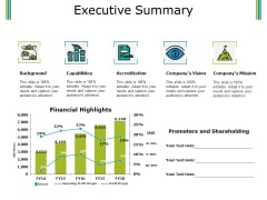 Executive Summary Ppt PowerPoint Presentation Pictures Topics