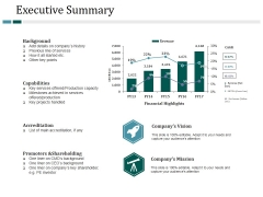Executive Summary Ppt PowerPoint Presentation Styles Background Designs