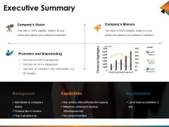 Executive Summary Ppt PowerPoint Presentation Styles Professional