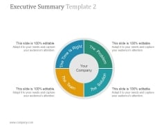 Executive Summary Template 2 Ppt PowerPoint Presentation Files