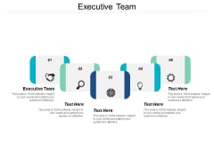 Executive Team Ppt Powerpoint Presentation Portfolio Backgrounds Cpb