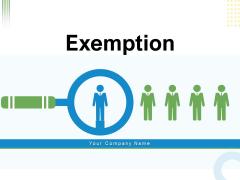 Exemption Employee Performance Ppt PowerPoint Presentation Complete Deck