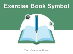 Exercise Book Symbol Business Electric Bulb Ppt PowerPoint Presentation Complete Deck