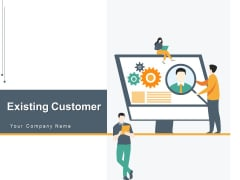 Existing Customer Profile Icon Account Ppt PowerPoint Presentation Complete Deck