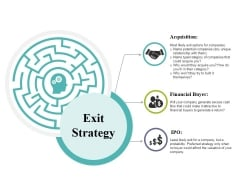 Exit Strategy Ppt PowerPoint Presentation File Templates