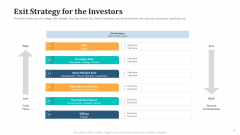 Expand Your Business Through Series B Financing Investor Deck Exit Strategy For The Investors Structure PDF