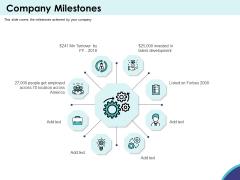Expansion Oriented Strategic Plan Company Milestones Ppt PowerPoint Presentation File Background Designs PDF