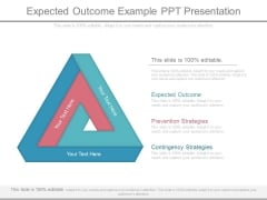 Expected Outcome Example Ppt Presentation
