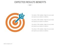 Expected Results Benefits Ppt PowerPoint Presentation Styles Model