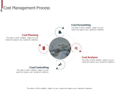 Expenditure Administration Cost Management Process Ppt Show Designs Download PDF