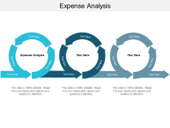 Expense Analysis Ppt PowerPoint Presentation Pictures Structure Cpb