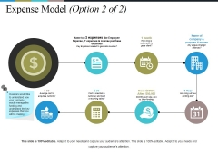 Expense Model Template 1 Ppt PowerPoint Presentation Pictures Template