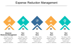Expense Reduction Management Ppt PowerPoint Presentation Model Background Images Cpb