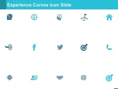 Experience Curves Icon Slide Business Ppt PowerPoint Presentation Layouts Design Templates