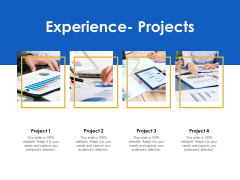 Experience Projects Management Ppt Powerpoint Presentation Professional Gridlines