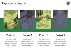 Experience Projects Ppt PowerPoint Presentation Infographic Template Templates