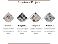 Experience Projects Ppt PowerPoint Presentation Show Structure