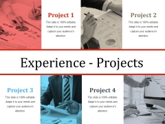 Experience Projects Ppt PowerPoint Presentation Slides Rules
