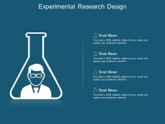 Experimental Research Design Ppt Powerpoint Presentation Pictures Example